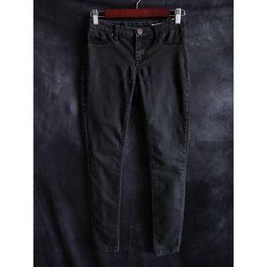 Blank NYC Spray On Black Skinny Jeans 26